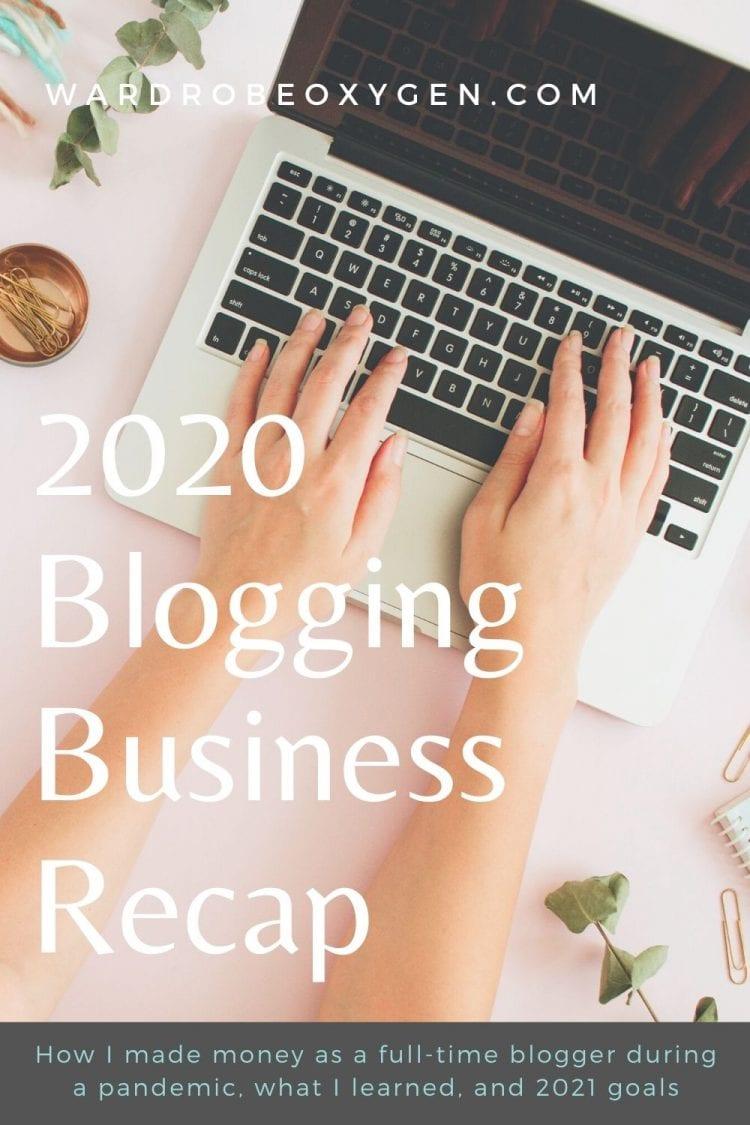 Blogging During a Pandemic: 2020 Recap