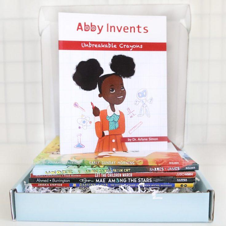 justlikemebox sq subscription book box abby invents