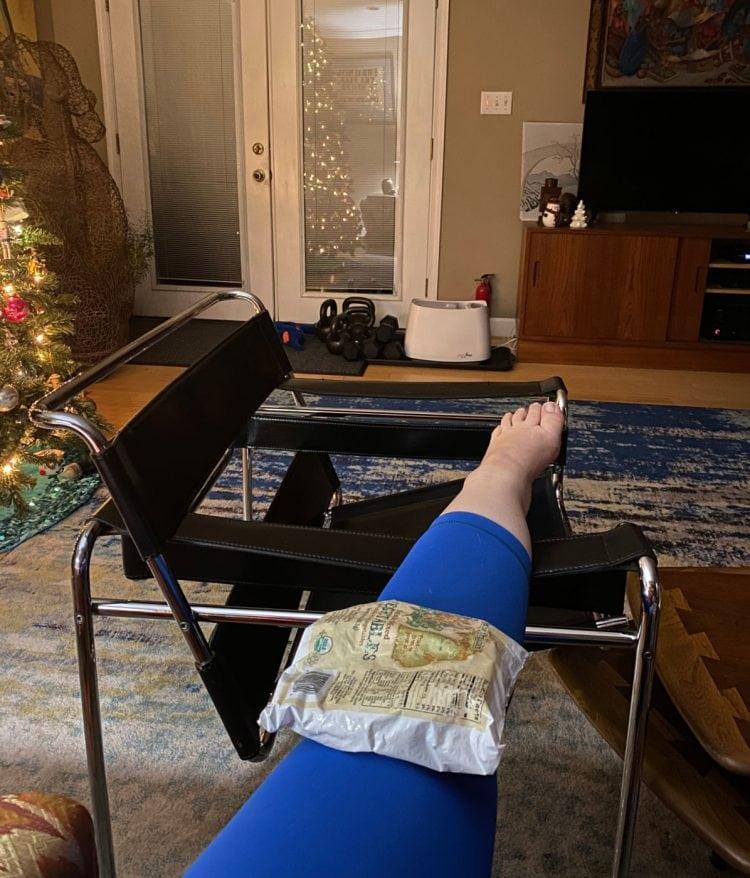 peloton torn meniscus