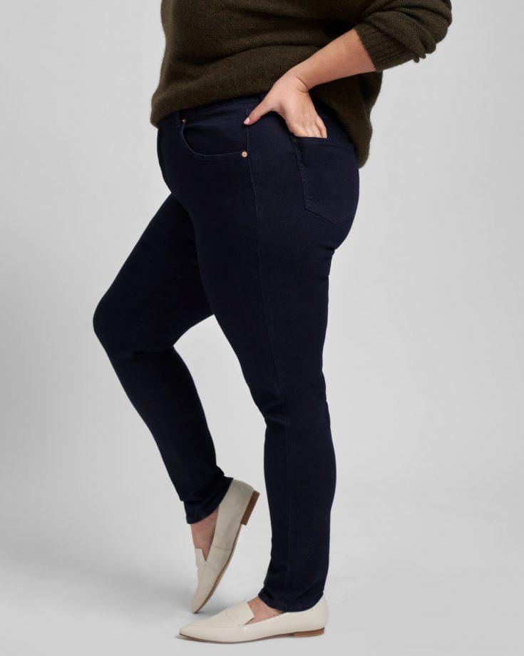 seine mid rise skinny jeans 32 inch dark indigo USPA0302L 21820 046 1280x