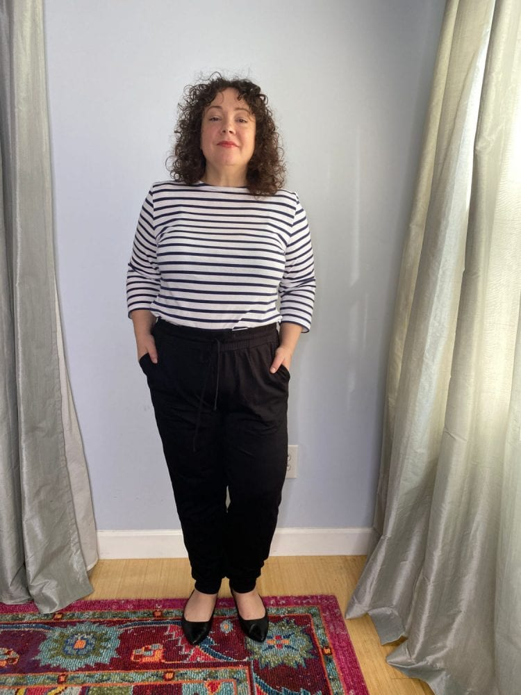 the best size inclusive joggers: a review of boden