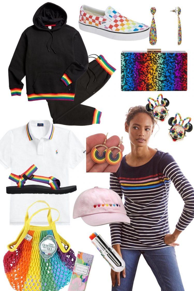 rainbow fashion for women pride clothing