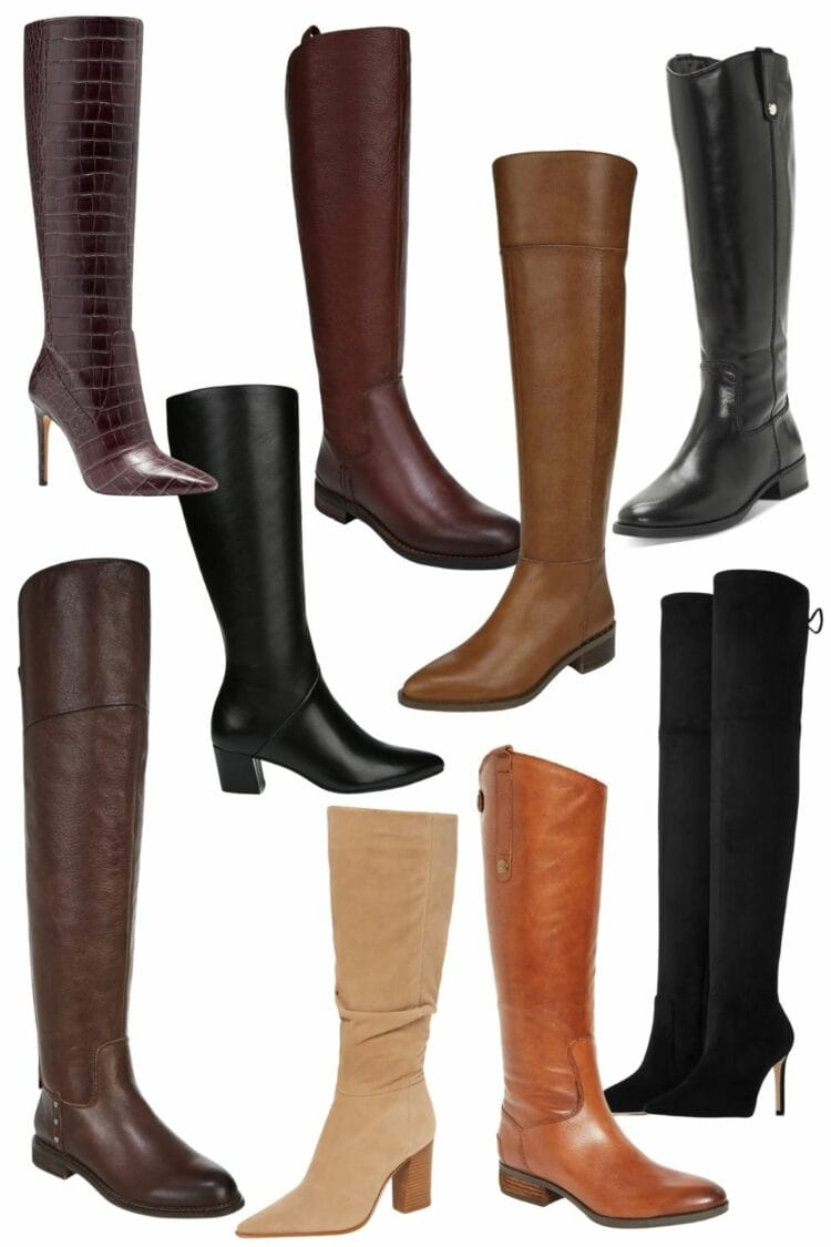 stylish wide width boots