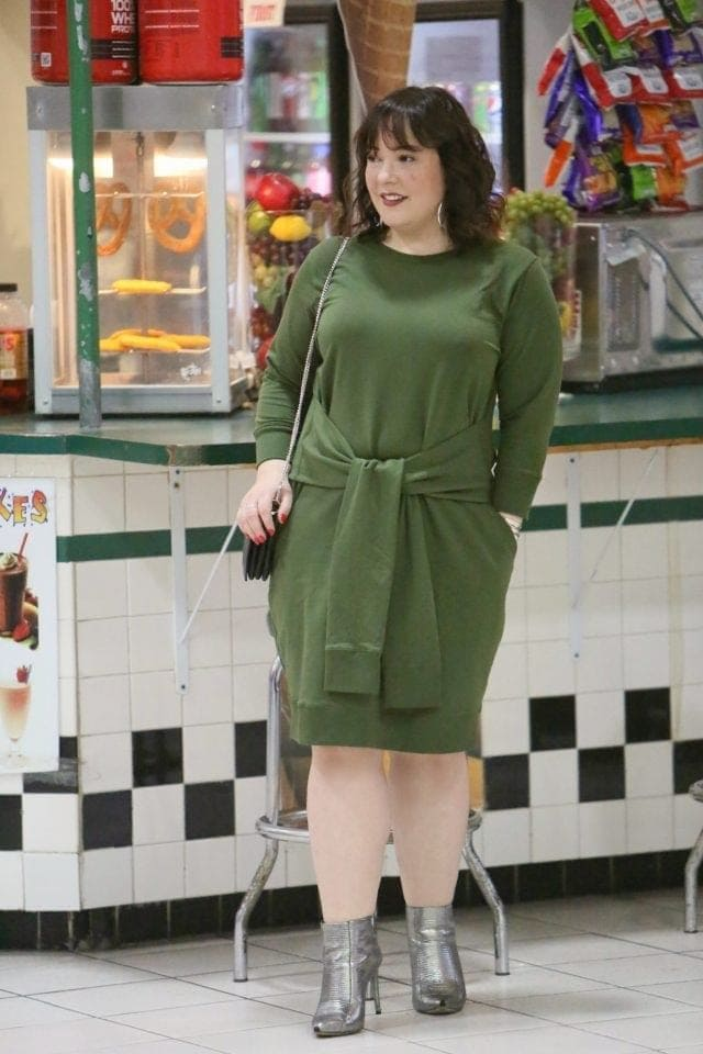 universal standard misa dress on wardrobe