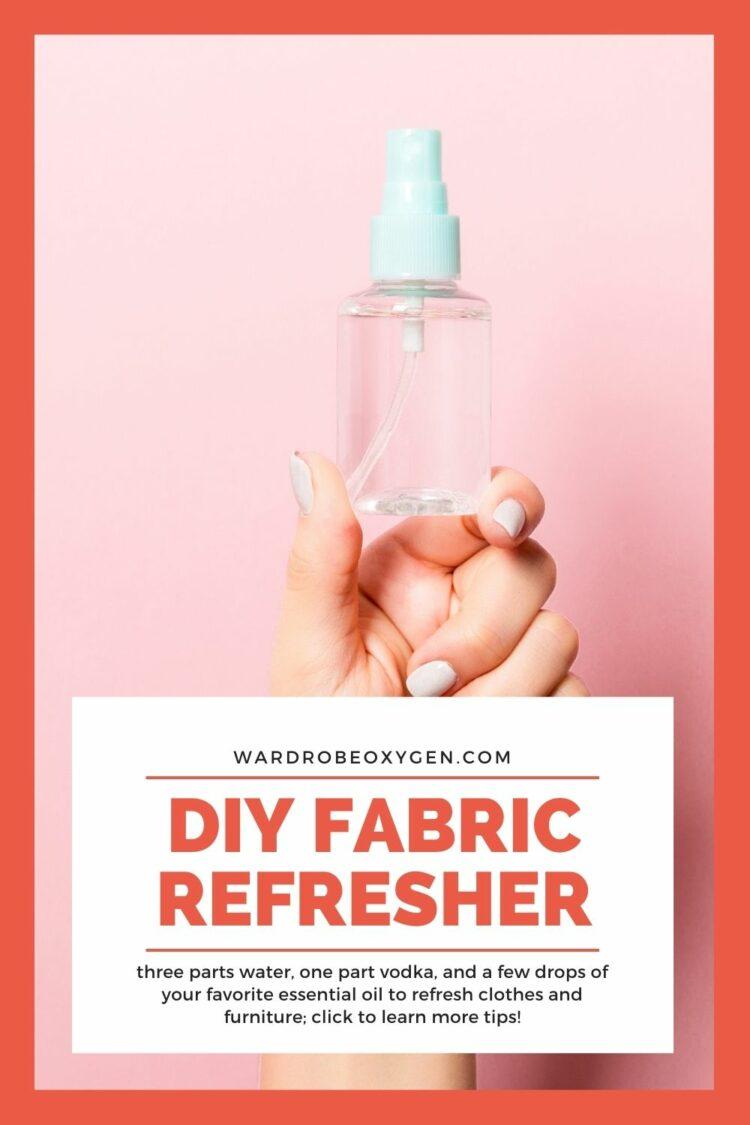 DIY fabric refresher recipe