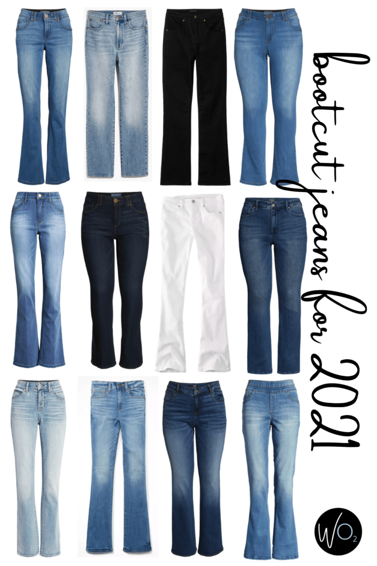 denim trends for 2021 bootcut