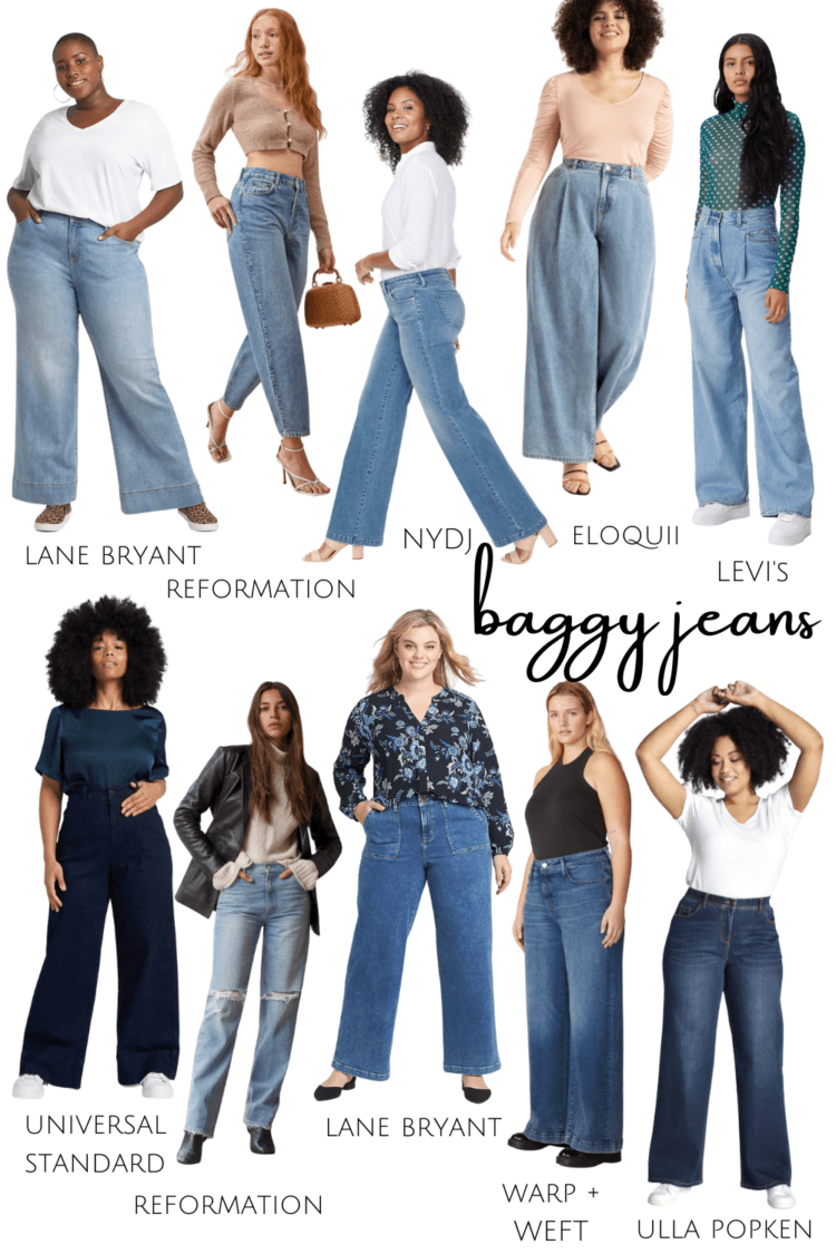 how to style baggy jeans 2021