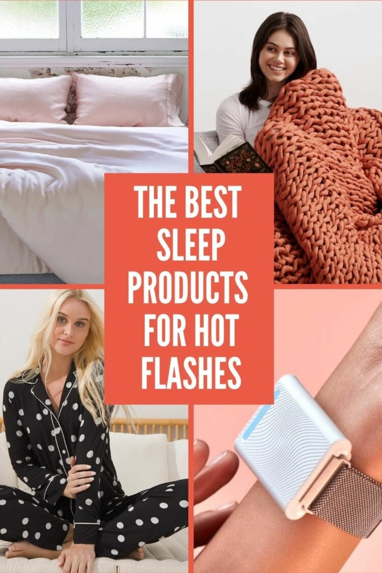 the best sleep products for hot flashes