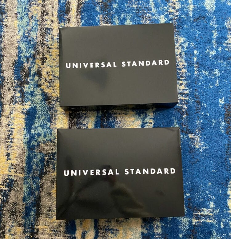 universal standard mystery box review