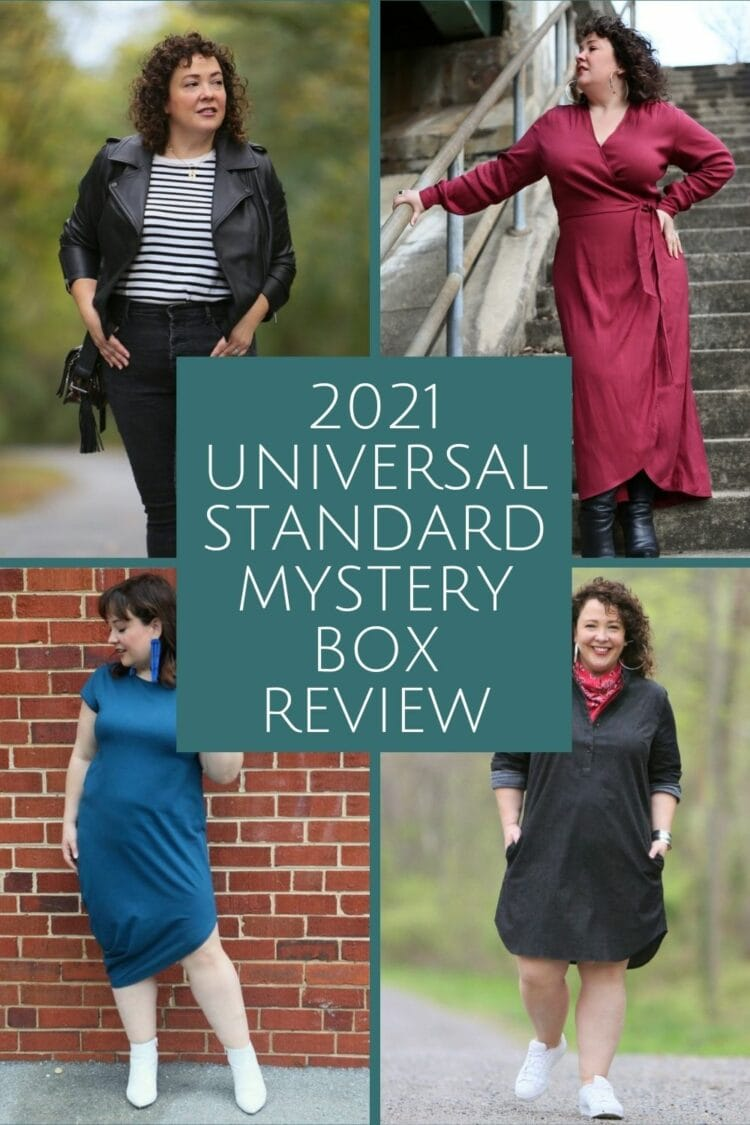 Universal Standard Mystery Box review by Wardrobe Oxygen for 2021