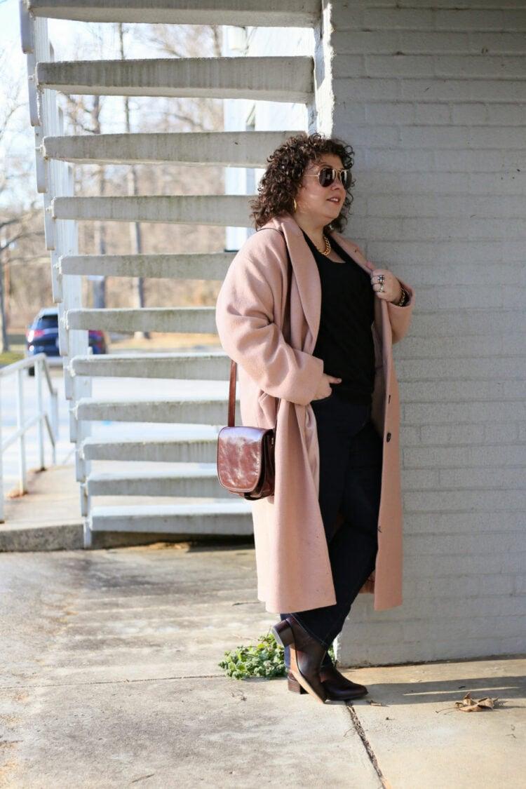 universal standard willow coat review