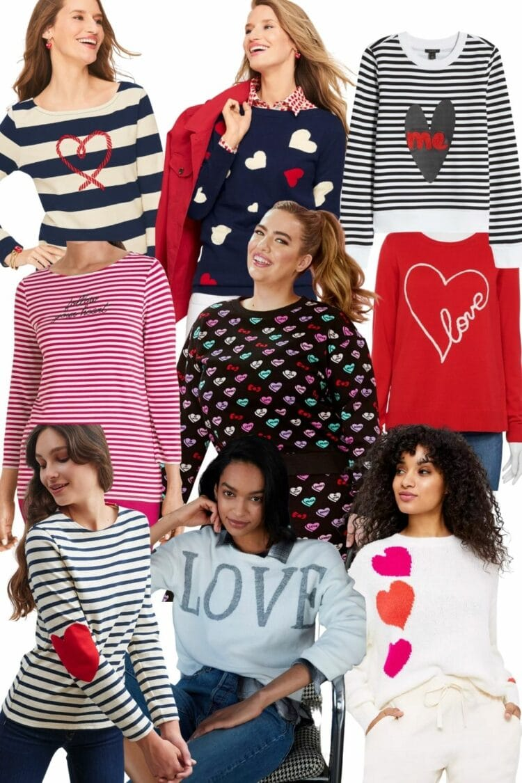 Valentine's Day Fashion for Now and Later. Size-inclusive style and fun accessories for the holiday and beyond.