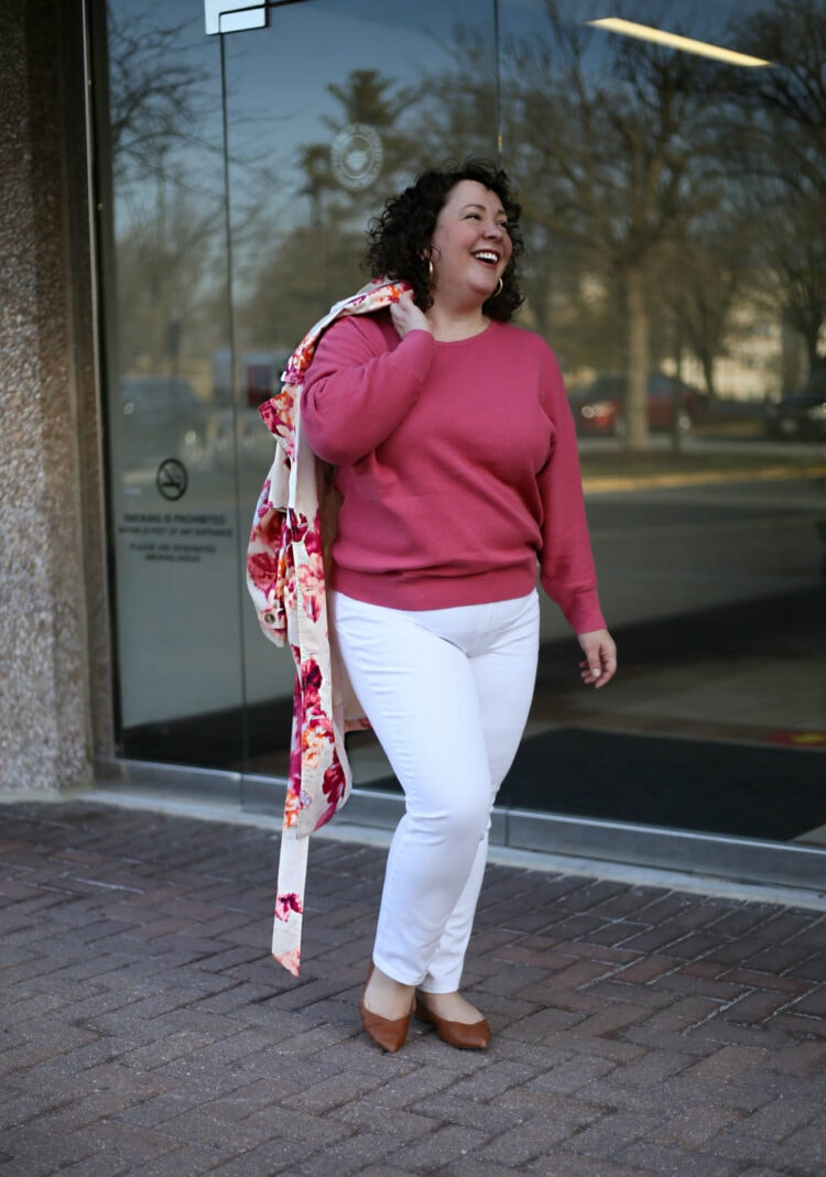 chico's dolman sleeve sweater review