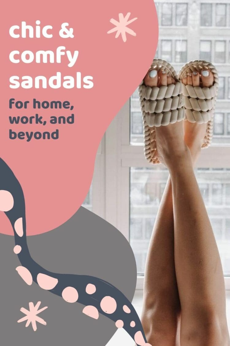 chic comfy sandals for spring picked by Wardrobe Oxygen