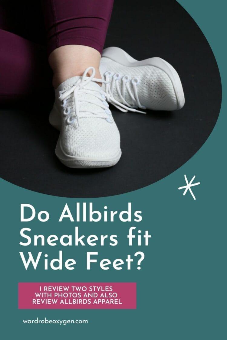 do allbirds fit wide feet review