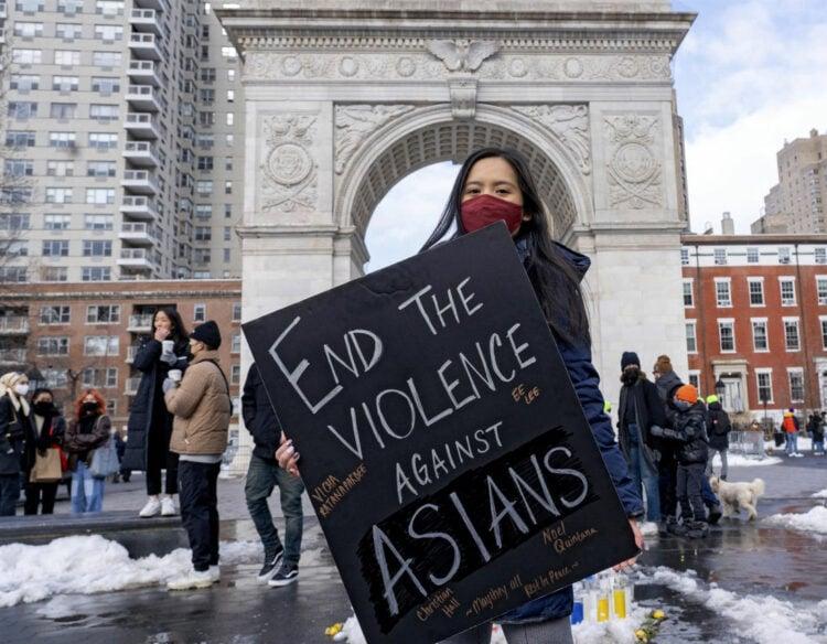 end violence against asians