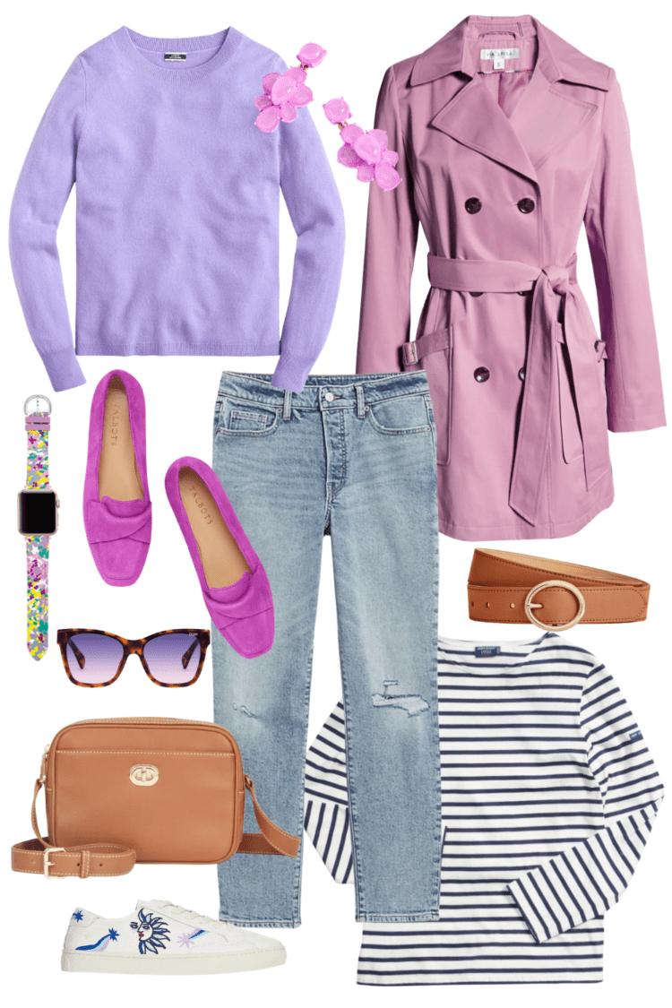 lavender spring trend