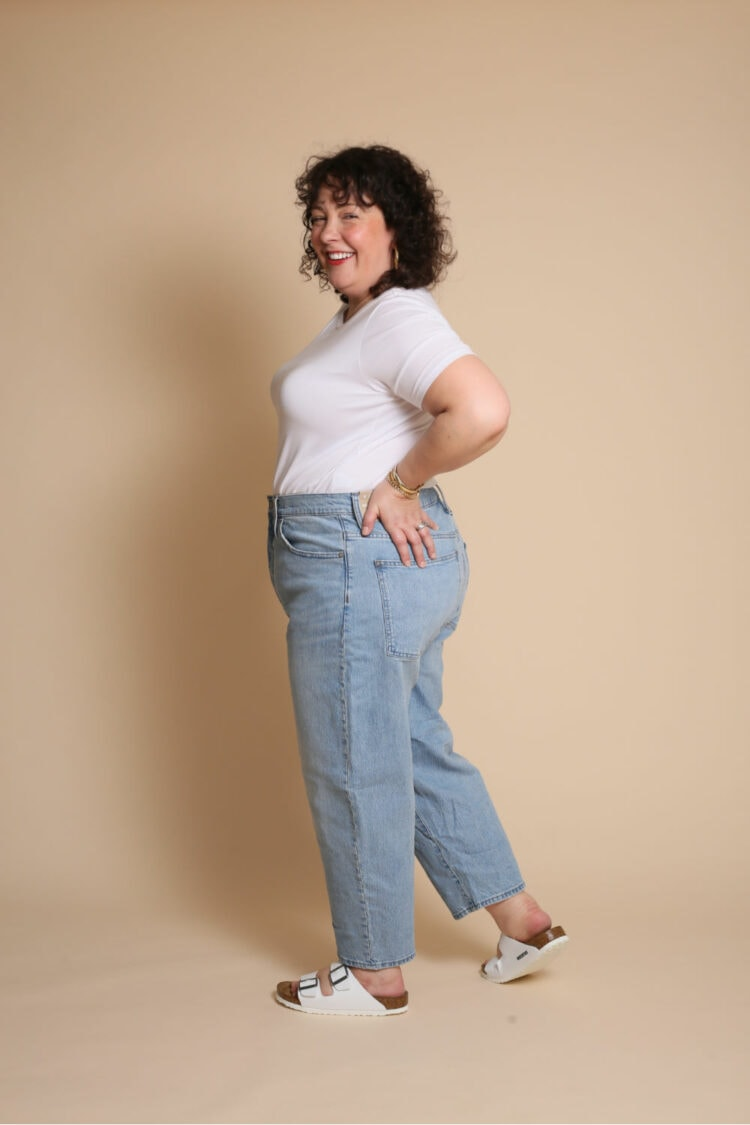 madewell balloon jean review