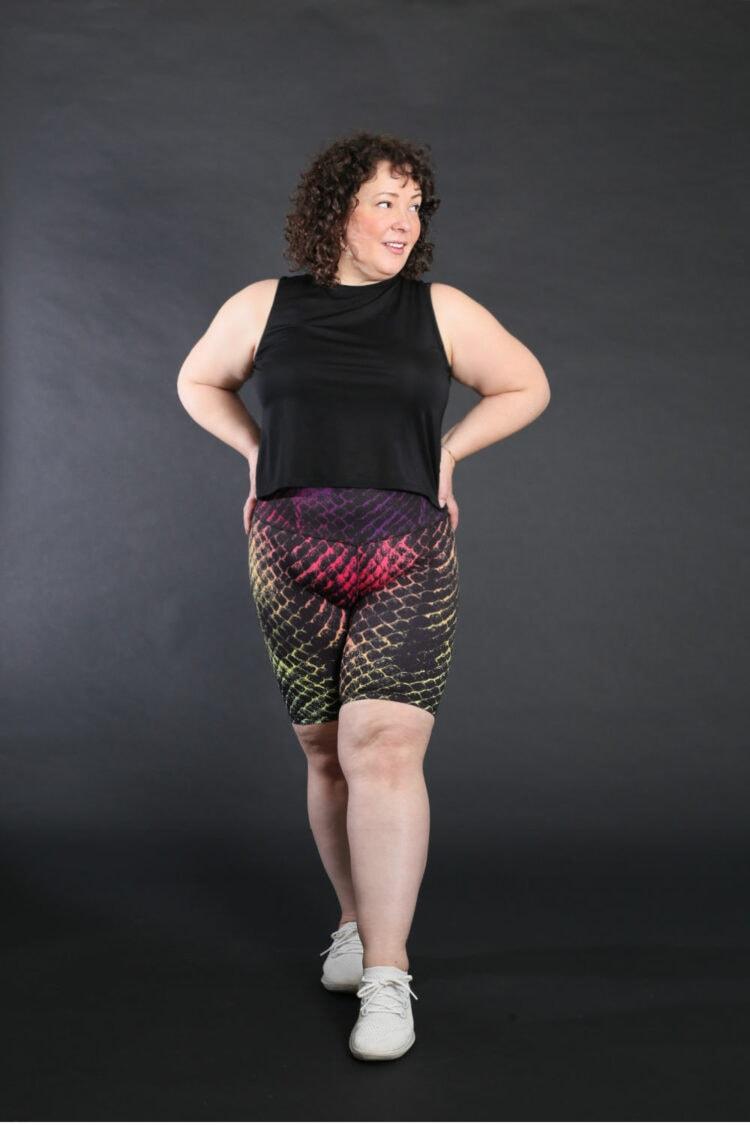 miami fitwear bike shorts plus size