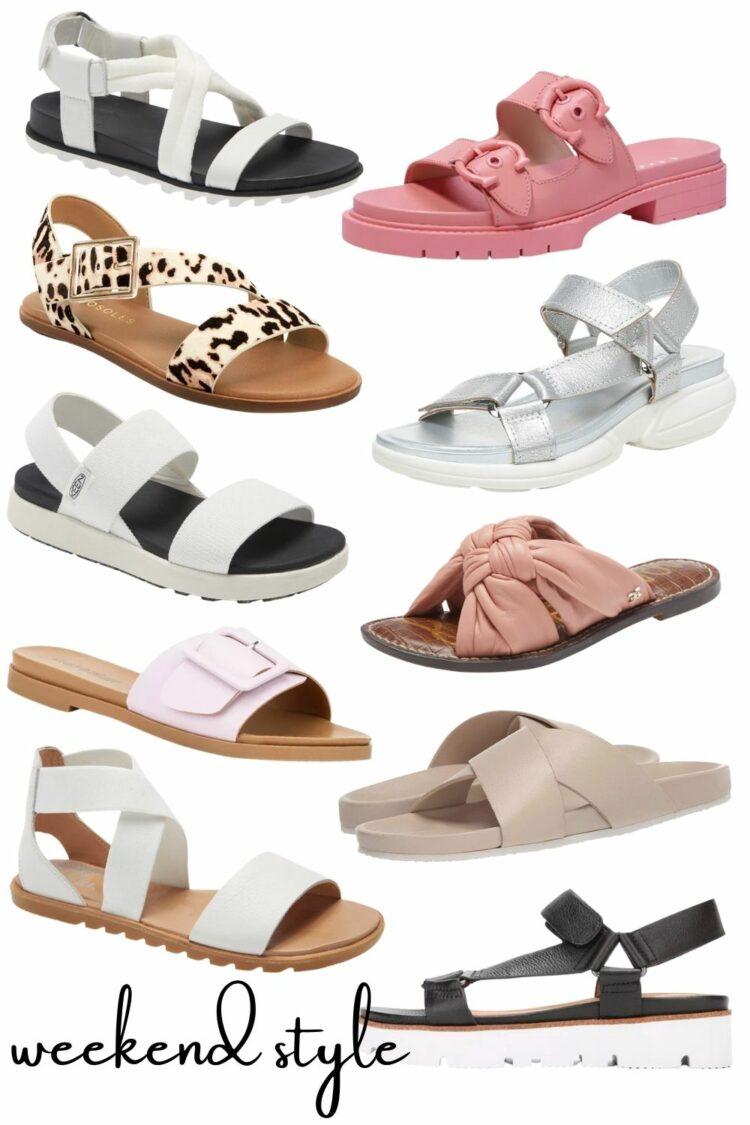 sandal trends for spring