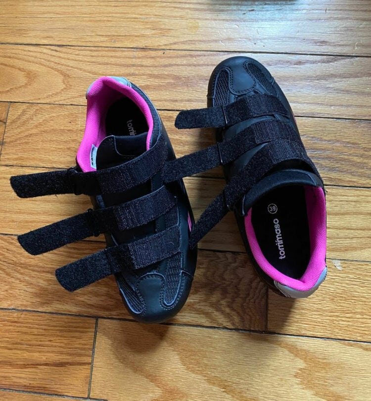tommaso pista womens cycling shoe review