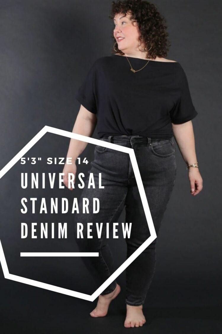 new universal standard denim review