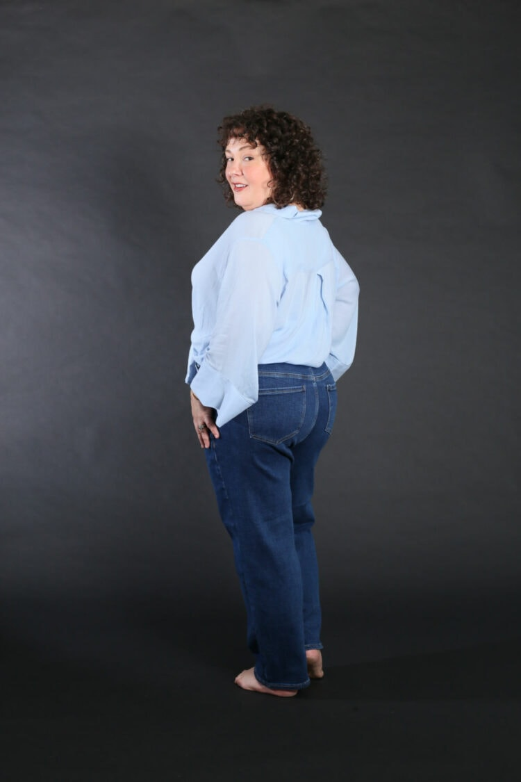 universal standard etta jeans review