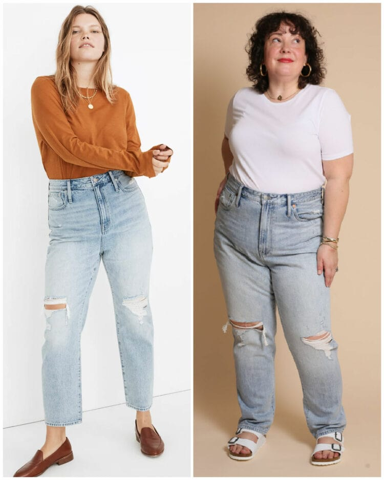wardrobe oxygen madewell denim haul
