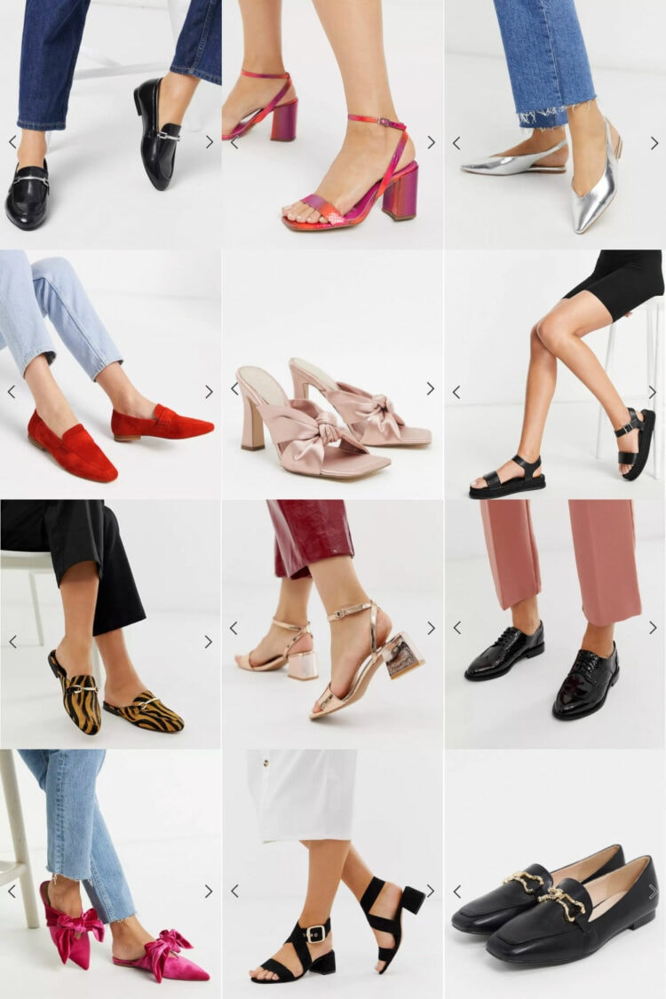 ASOS wide shoes review