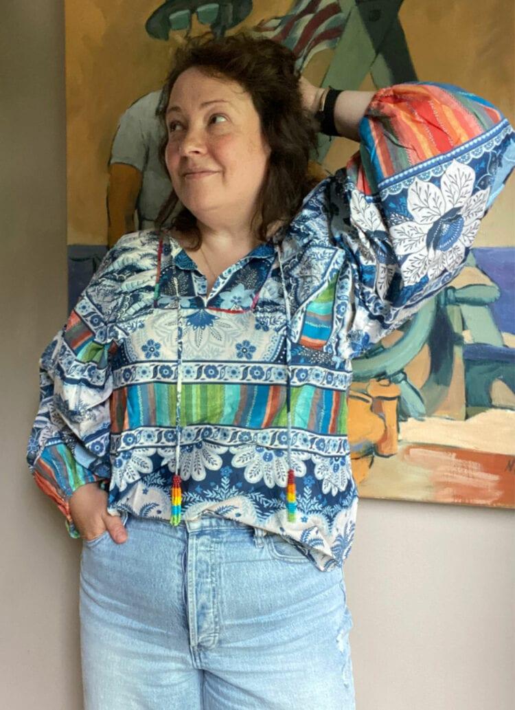 FARM Rio blouse