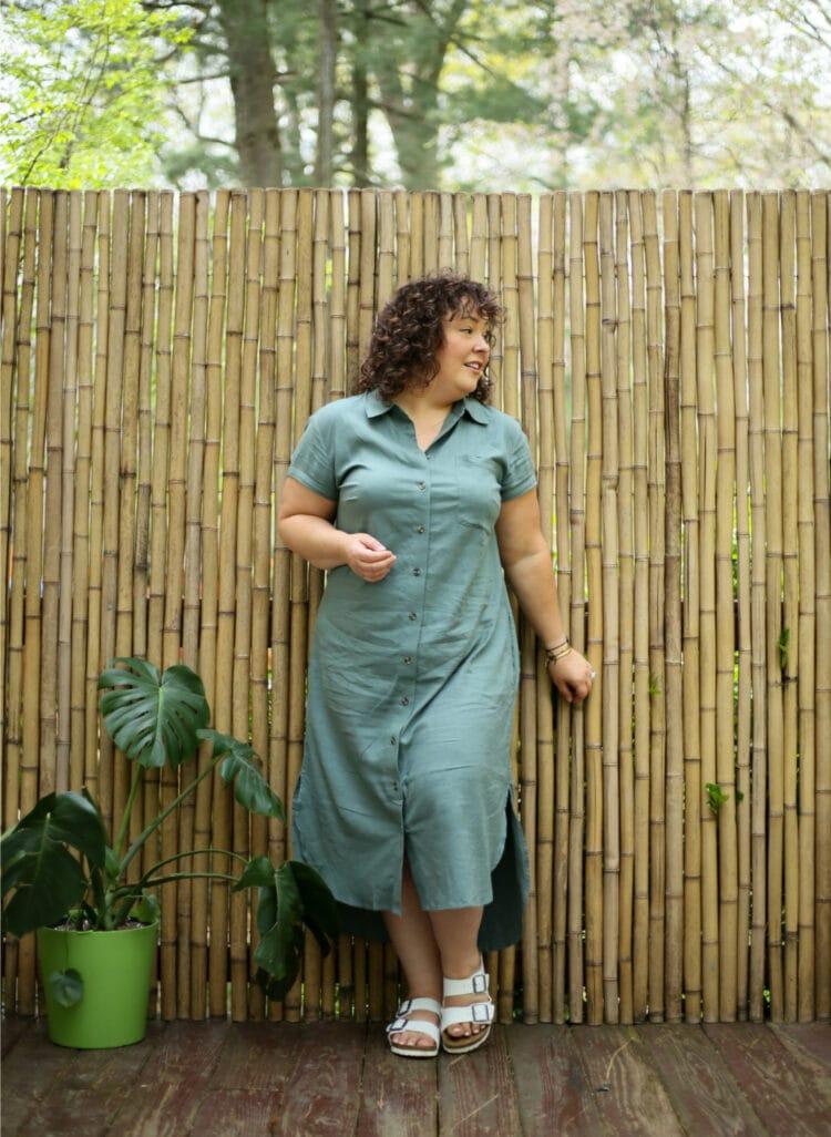 US linen dress 1