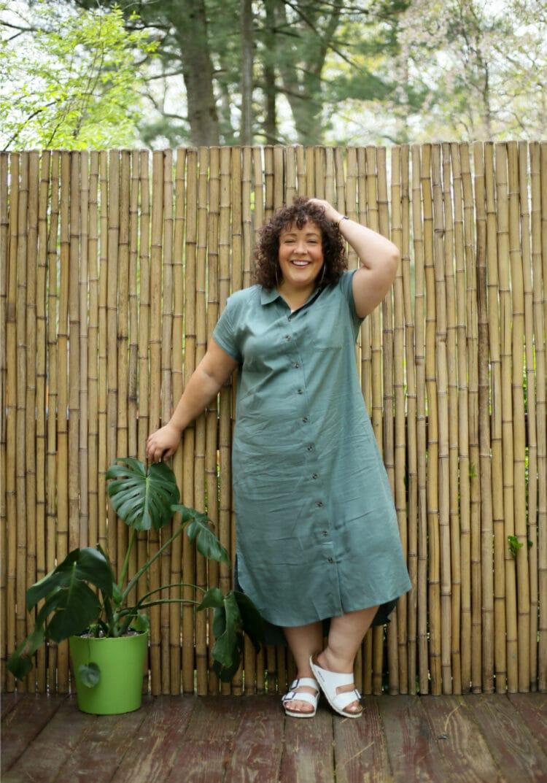 US linen dress review wo