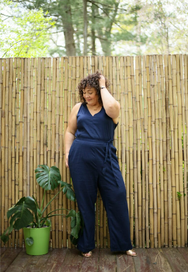 US linen jump suit