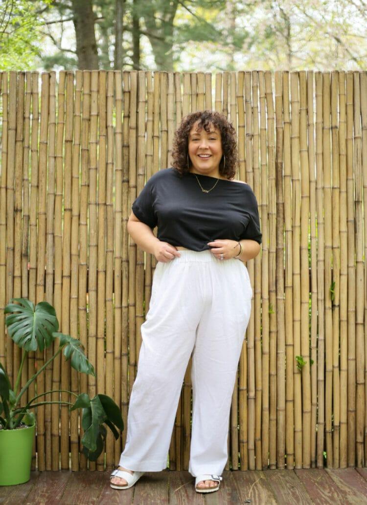 US linen pants review