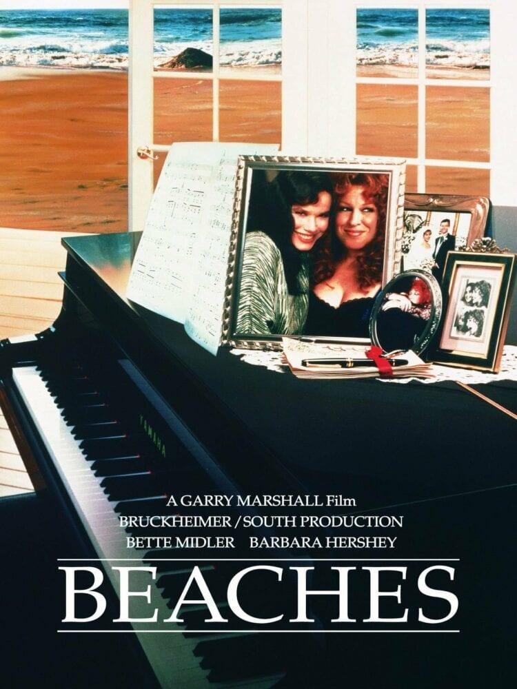 beaches movie poster