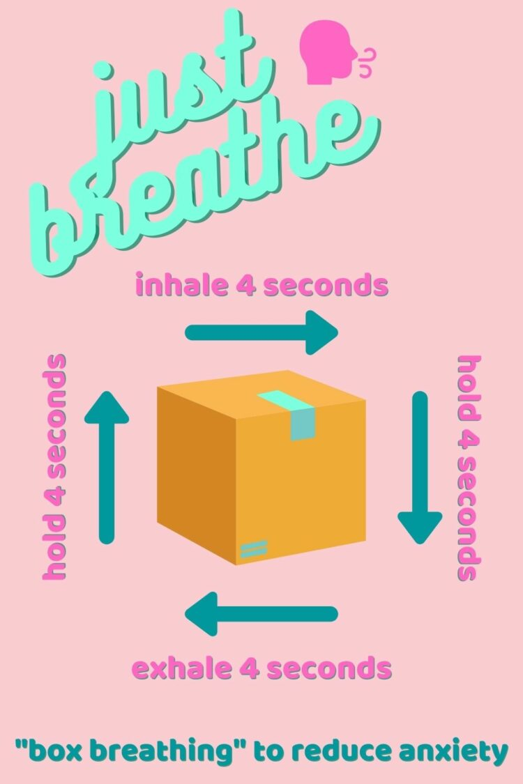 box breathing to reduce anxiety