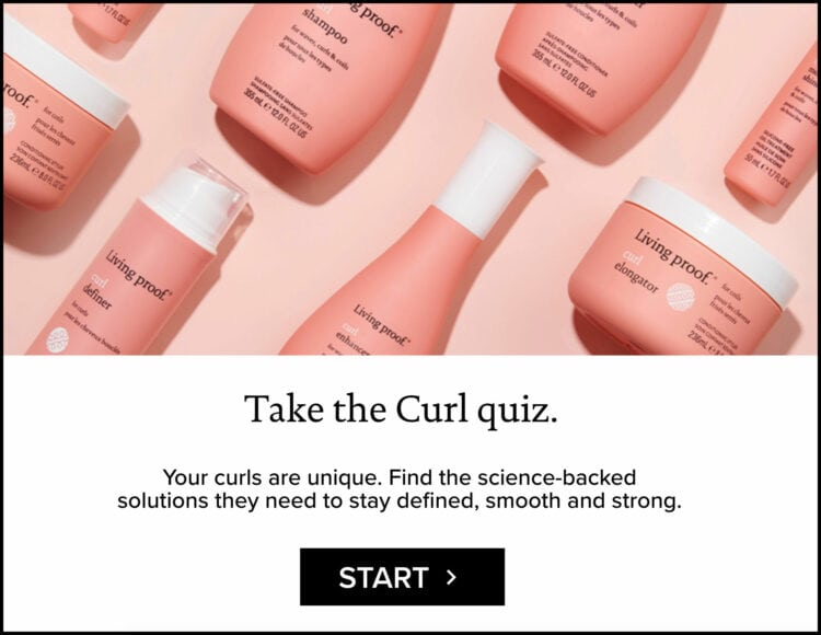 living proof curl collection quiz review