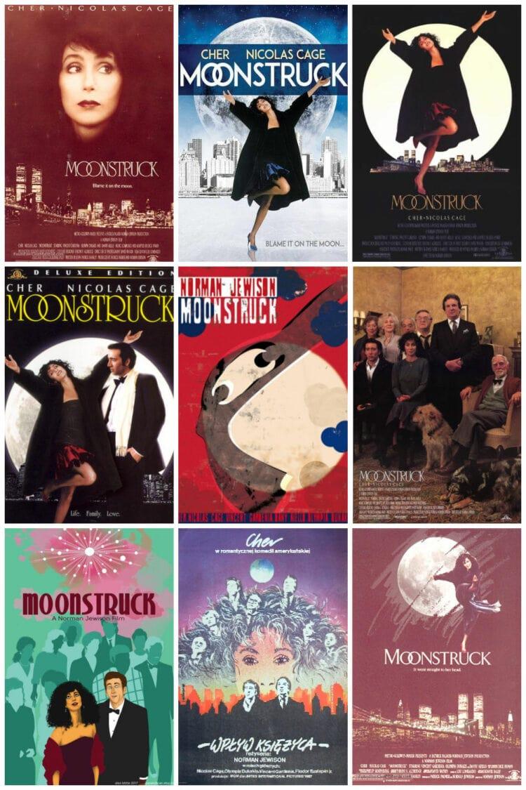 moonstruck movie posters