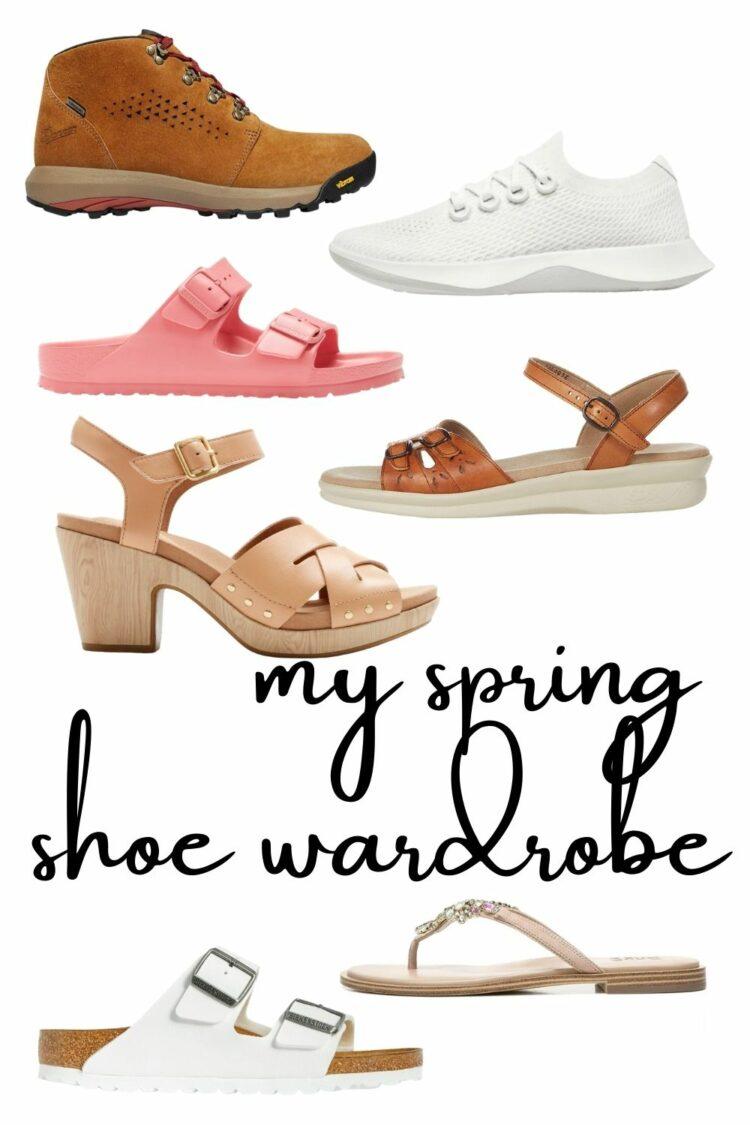 spring shoe wardrobe