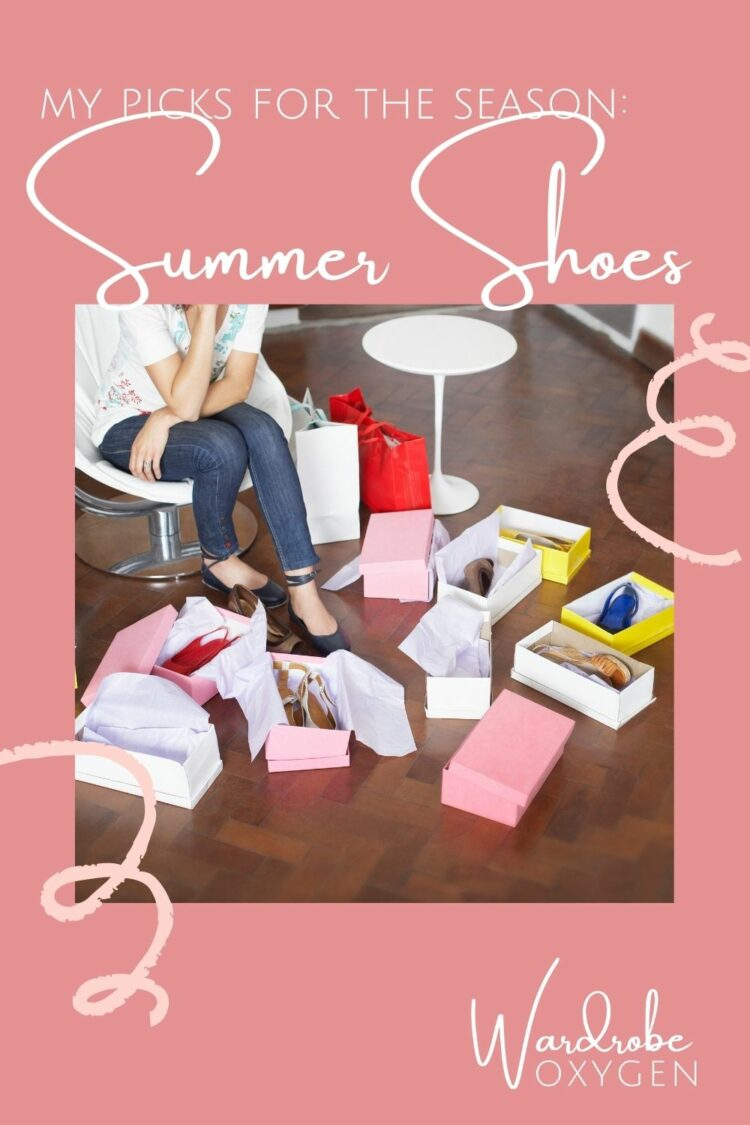 spring to summer shoes