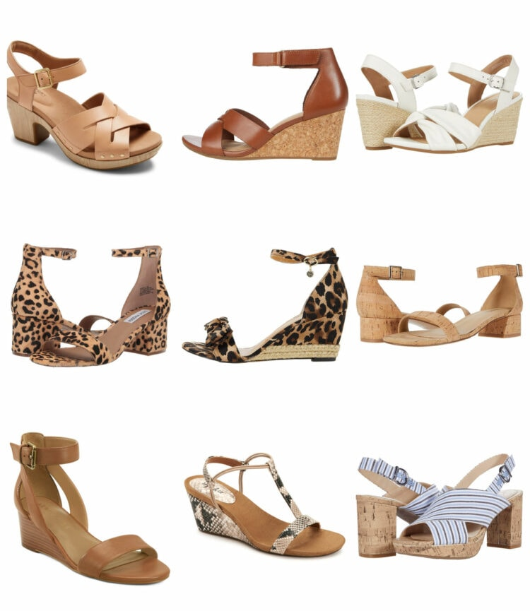 stylish wide width shoes for summer