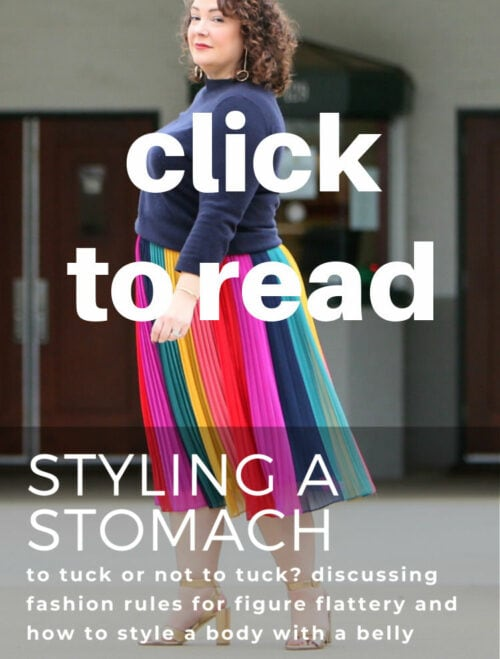 tips on styling a stomach