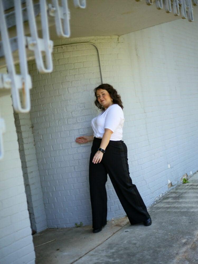 universal standard tuxedo pants