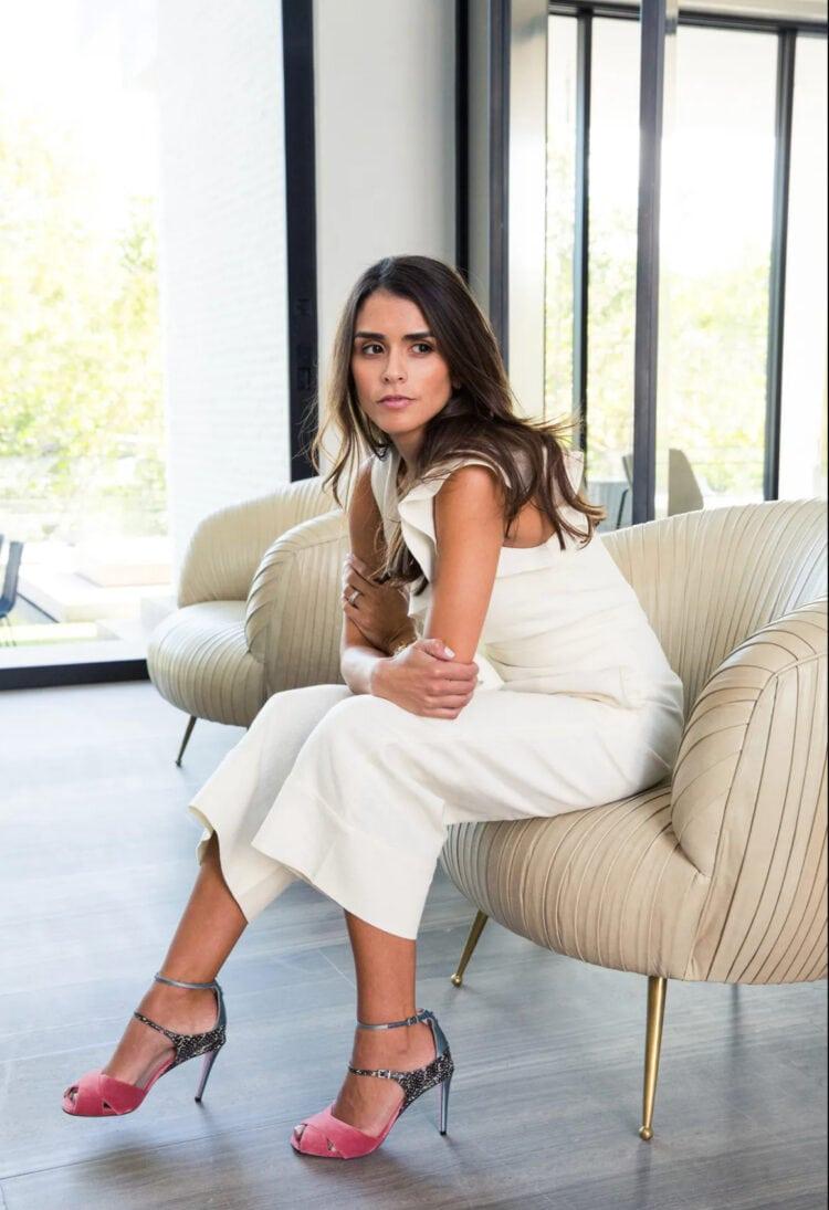 Alexis Barbara Isaias designer and cofounder of ALEXIS