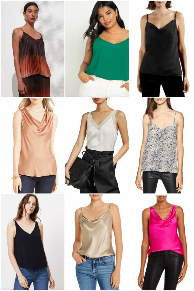 going out tops for grown women camisoles