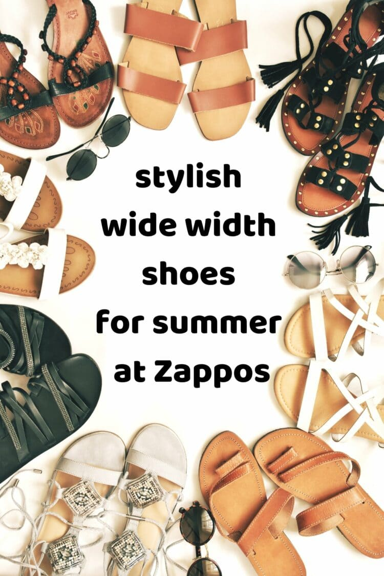 the best wide width shoes for summer from Zappos