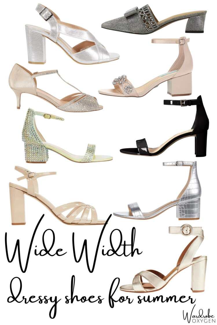 wide width dress shoes for summer