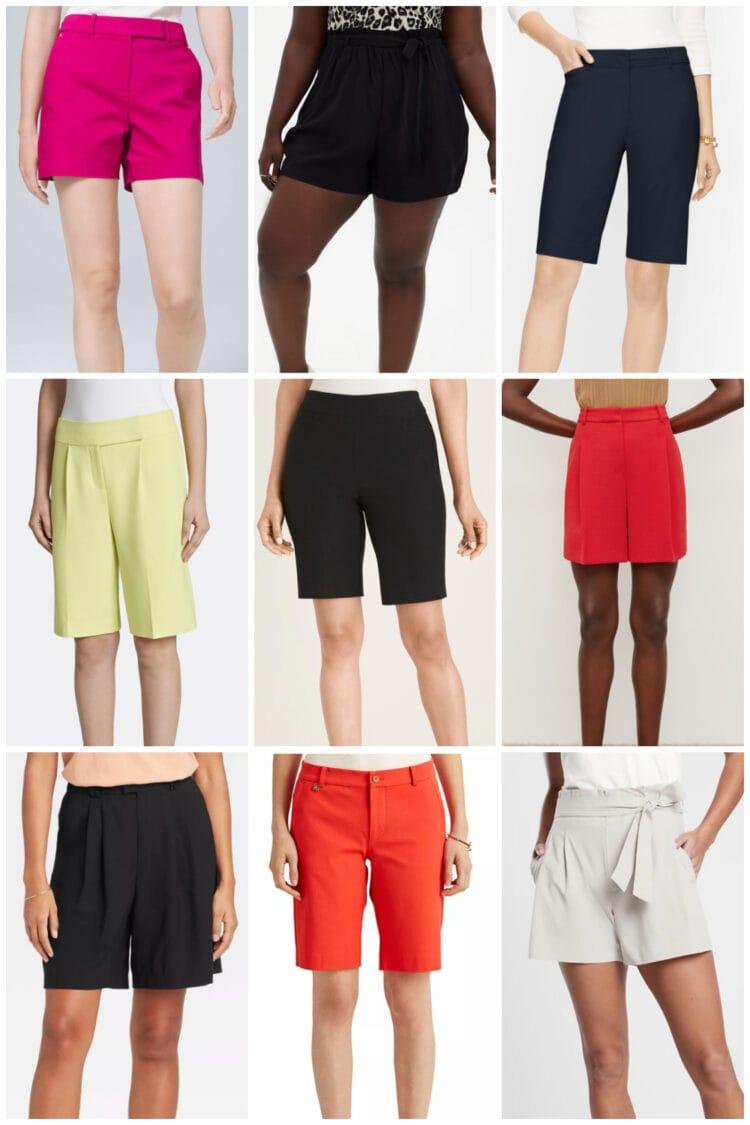best dressy shorts for women