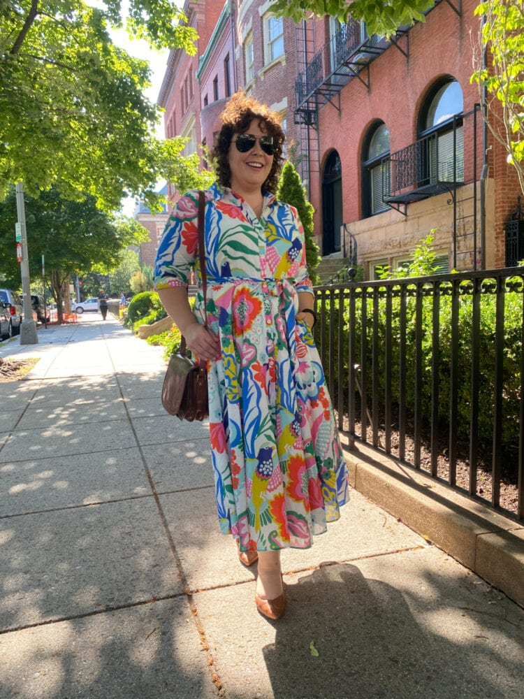 boden cotto shirtdress review