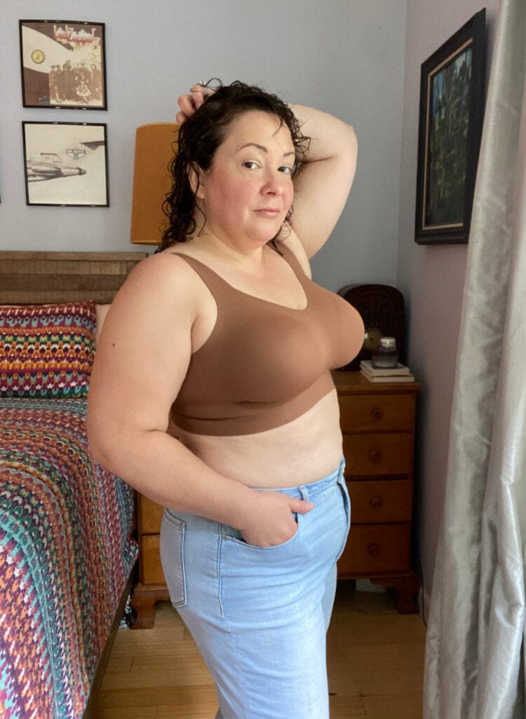 Evelyn and Bobbie Beyond bra on Wardrobe Oxygen